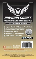 Mayday Games Premium Sleeves 61 mm x 103 mm (50 ct)