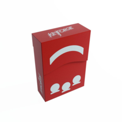 Keyforge Aries Deck Box: Red