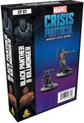 Marvel Crisis Protocol - Black Panther & Killmonger Character Pack