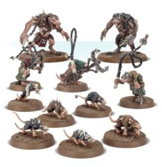 Skaven: Rat Ogors, Giant Rats and Packmasters