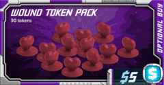 Starcadia Quest: Wound Token Pack