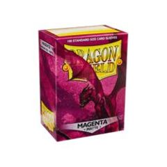 Dragon Shields: Matte Magenta (100)