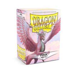 Dragon Shields: Matte Pink (100)