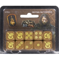 A Song of Ice & Fire: Neutral Faction Dice