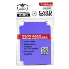 Card Dividers - Purple (10)