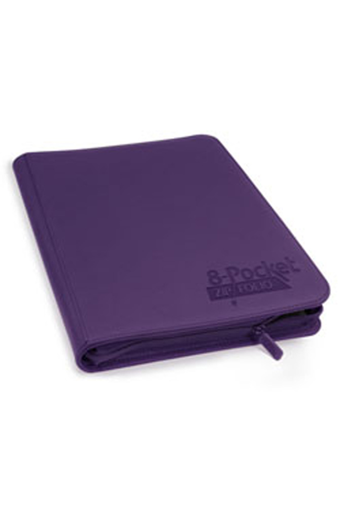 Ultimate Guard - 8-Pocket Zipfolio Xenoskin - Purple