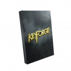 Keyforge Logo Sleeves: Black