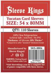 Sleeve Kings Card Sleeves: 54 x 80 mm 110 count