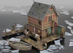 Lake Town House