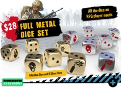 Zombicide 2nd Edition: Full Metal Dice Set