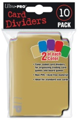 Card Dividers Variety Pack (10)