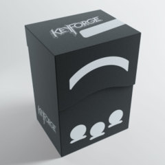 Keyforge Gemini Deck Box: Black