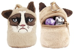 Grumpy Cat Mini Dice and Token Pouch