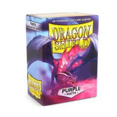 Dragon Shields: Matte Purple (100)