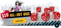 Zombicide 2nd Edition: All Out Dice