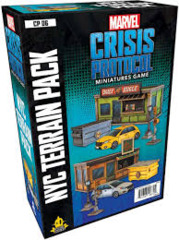 Marvel Crisis Protocol - NYC Terrain Pack
