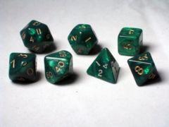 7 Cube Pearl - Green