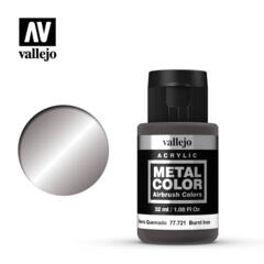 Vallejo Acrylic - Metal Color - Burnt Iron