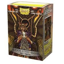 DRAGON SHIELD SLEEVES: MATTE ART QUEEN ATHROMARK: PORTRAIT (BOX OF 100) - LIMITED EDITION