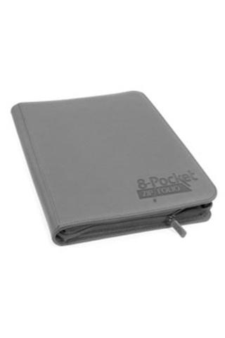 Ultimate Guard - 8-Pocket Zipfolio Xenoskin - Grey