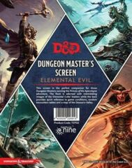 Dungeon Master's Screen - Elemental Evil