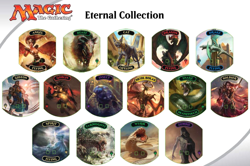 Magic The Gathering Relic Tokens: Eternal Collection Pack