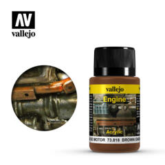 Vallejo Acrylic - Engine - Brown Engine Soot