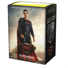 Dragon Shield Sleeves: Matte Art: Justice League Superman 100 ct.
