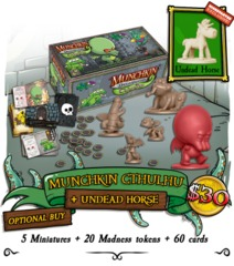 Munchkin Dungeon: Munchkin Cthulhu (Plus Undead Horse Miniature)