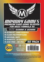 Mayday Games Premium Sleeves 55 mm x 80 mm (50 ct)