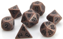 Ancient Copper Die Hard Dice