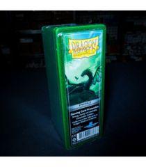 Dragon Shield Four-Compartment Storage Box - Emerald