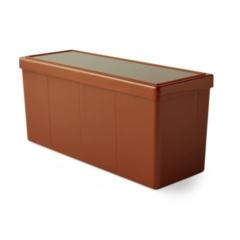 Dragon Shield Four-Compartment Storage Box - Copper