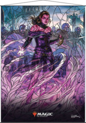 Magic the Gathering: Stained Glass Wall Scroll - Liliana