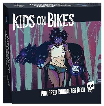 Kids on Bikes RPG: Powered Character Deck