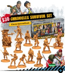 Zombicide 2nd Edition: Chronicles Survivor Set