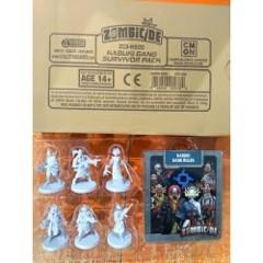 Zombicide Invader Kabuki Gang Survivor Pack