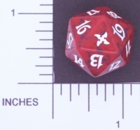 Betrayers of Kamigawa RED - D20 Spindown Life Counter