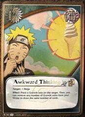 Awkward Thinking - M-781 - Super Rare - 1st Edition - Foil