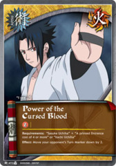 Power of the Cursed Blood - J-472 - FOIL - PROMO