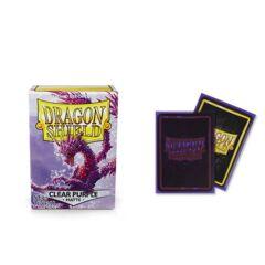 Dragon Shield Sleeves : Matte Clear Purple