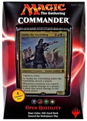 Commander 2016: Open Hostility -French