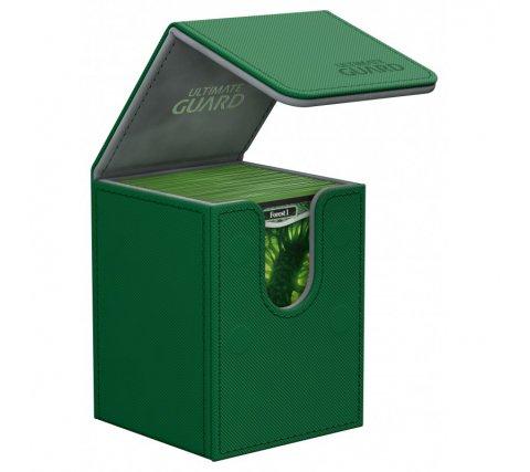 Ultimate Guard Flip Deck Case Xenoskin 100+ - Green
