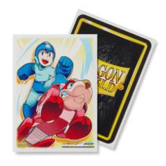 Dragon Shield Sleeves: Classic Art - Mega Man & Rush