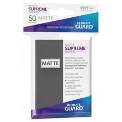 Ultimate Guard - SUPREME SLEEVES - Standard size -  Dark Grey