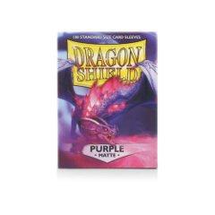 DRAGON SHIELD SLEEVES - MATTE PURPLE (BOX OF 100)