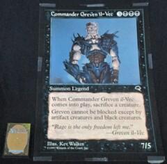 Tempest Commander Greven il-Vec 12 x 18 Poster