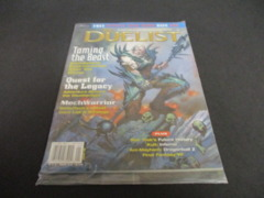 The Duelist Magazine #21 Mint and Sealed