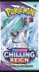Sword & Shield Chilling Reign Booster Pack