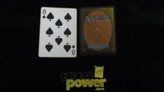 (1) Eight of Spades Yaquinto Playing Card